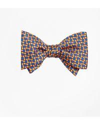 Brooks Brothers - Bow Tie Motif Bow Print Tie - Lyst