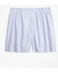 Brooks Brothers - Traditional Fit Alternating Stripe Boxers - Lyst