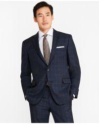 Brooks Brothers - Regent Fit Saxxontm Wool Windowpane 1818 Suit - Lyst