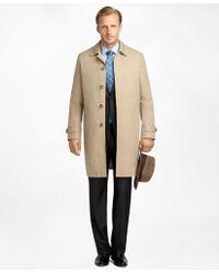 Brooks Brothers | Newbury Khaki Trench Coat | Lyst