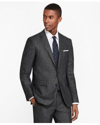 Brooks Brothers - Milano Fit Herringbone 1818 Suit - Lyst
