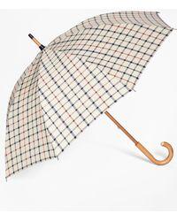 Brooks Brothers - Tattersall Umbrella - Lyst