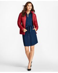 Brooks Brothers - Puffer Jacket - Lyst