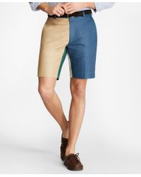 Brooks Brothers - Linen And Cotton Fun Shorts - Lyst