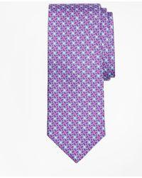 Brooks Brothers | Horseshoe Motif Print Tie | Lyst