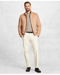 Brooks Brothers - Golden Fleece® Wool And Camel Hair Bomber - Lyst