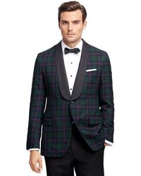 Brooks Brothers - Fitzgerald Fit Tartan Tuxedo Jacket - Lyst