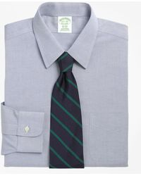 Brooks Brothers - Non-iron Milano Fit Point Collar Dress Shirt - Lyst
