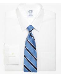 Brooks Brothers - Regent Fit Forward Point Collar Dress Shirt - Lyst