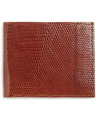Brooks Brothers - Lizard Wallet - Lyst