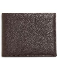 Brooks Brothers - Pebble Leather Wallet - Lyst