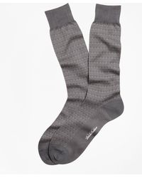 Brooks Brothers - Diamond Crew Socks - Lyst