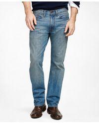Brooks Brothers - Supima® Denim Straight Fit Jeans - Lyst