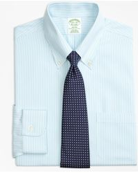Brooks Brothers - Milano Slim-fit Dress Shirt, Non-iron Tonal Stripe - Lyst