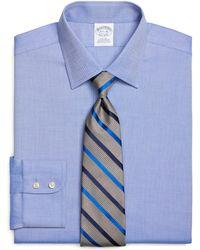 Brooks Brothers | Non-iron Regent Fit Royal Oxford Dress Shirt | Lyst