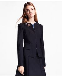 Brooks Brothers - Double-weave Stretch-wool Jacket - Lyst