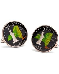 Brooks Brothers - Authentic New York Quarter Hand Painted Cuff Links - Lyst
