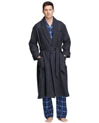 Brooks Brothers - Cashmere And Wool Robe - Lyst