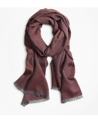 Brooks Brothers - Herringbone Scarf - Lyst