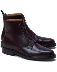 Brooks Brothers | Peal & Co.® Cordovan Boots | Lyst