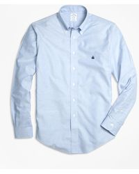 Brooks Brothers - Non-iron Milano Fit Oxford Sport Shirt - Lyst