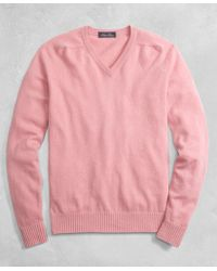 Brooks Brothers - Golden Fleece® 3-d Knit Cashmere Crewneck Sweater - Lyst
