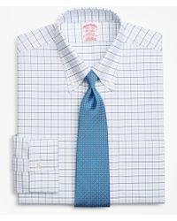 Brooks Brothers - Brookscool® Madison Classic-fit Dress Shirt, Non-iron Windowpane - Lyst
