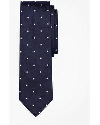 Brooks Brothers - Dot Slim Tie - Lyst