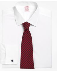 Brooks Brothers - Non-iron Madison Fit Spread Collar French Cuff Dress Shirt - Lyst