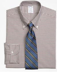 Brooks Brothers - Regent Fit Original Polo® Button-down Oxford Gingham Dress Shirt - Lyst
