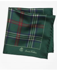 Brooks Brothers | Signature Tartan Pocket Square | Lyst
