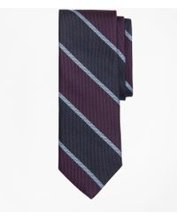 Brooks Brothers - Wide Stripe Tie - Lyst