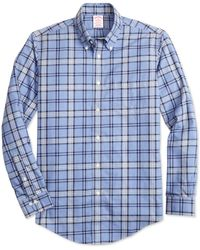 Brooks Brothers - Non-iron Madison Fit Signature Tartan Sport Shirt - Lyst