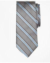 Brooks Brothers | Twill Framed Stripe Tie | Lyst