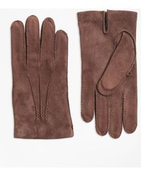 Brooks Brothers | Suede Gloves | Lyst