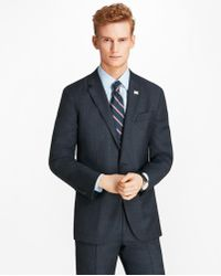 Brooks Brothers - Milano Fit Open Plaid 1818 Suit - Lyst
