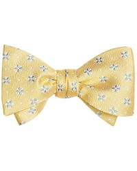 Brooks Brothers - Textured Four-petal Flower Bow Tie - Lyst