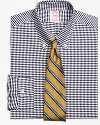 Brooks Brothers - Madison Fit Original Polo® Button-down Oxford Gingham Dress Shirt - Lyst