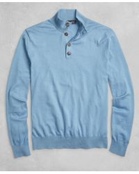 Brooks Brothers - Golden Fleece® 3-d Knit Henley - Lyst