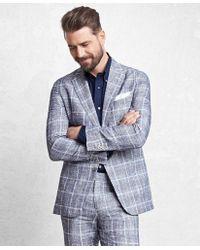 Brooks Brothers | Golden Fleece® Navy Glen Plaid Suit | Lyst