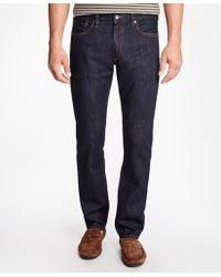 Brooks Brothers - Supima® Stretch Denim Slim Fit Jeans - Lyst