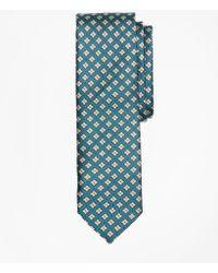 Brooks Brothers - Geometric Print Silk Tie - Lyst