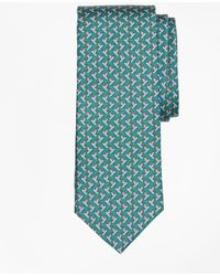 Brooks Brothers - Snowboarding Penguin Print Tie - Lyst