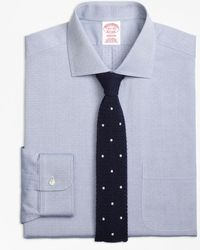 Brooks Brothers - Madison Classic-fit Dress Shirt, Non-iron English Collar Dobby - Lyst