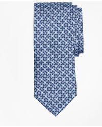 Brooks Brothers - Horseshoe Motif Print Tie - Lyst