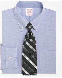 Brooks Brothers - Non-iron Traditional Fit Brookscool® Button-down Collar Dress Shirt - Lyst