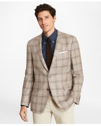 Brooks Brothers - Regent Fit Three-button Plaid Sport Coat - Lyst