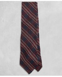 Brooks Brothers - Golden Fleece® Navy And Burgundy Plaid Tie - Lyst