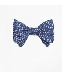 Brooks Brothers - Squares Bow Tie - Lyst