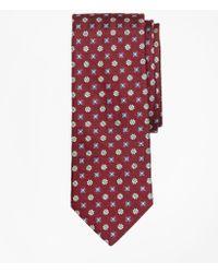 Brooks Brothers - Multi-flower Medallion Tie - Lyst